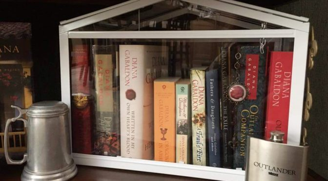 Outlander Collection Display Ideas for the Home