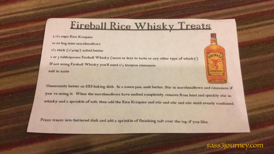 whisky treats