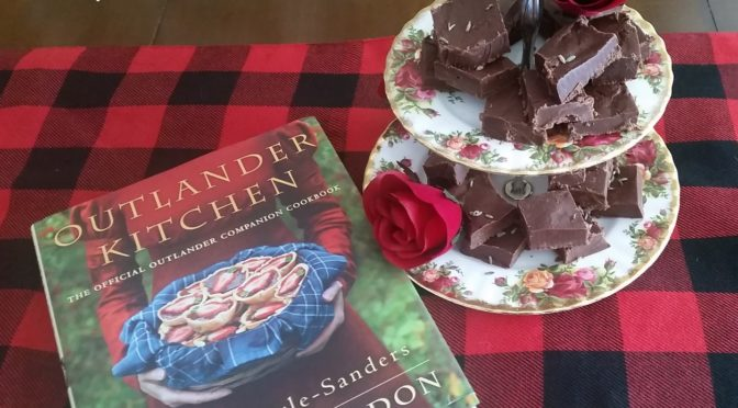 Black Jack Randall's Chocolate Lavender Fudge