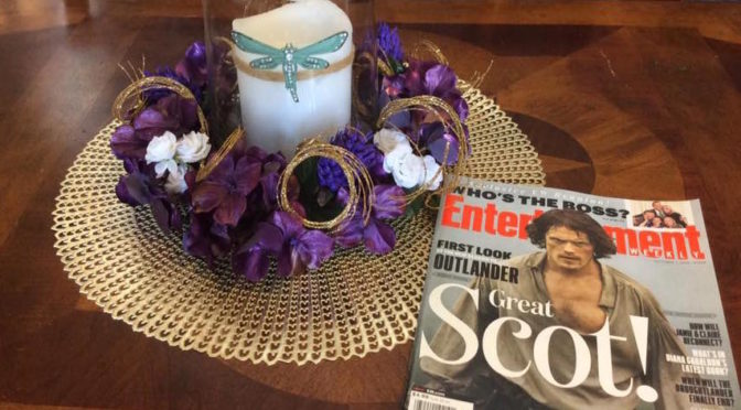 How to Create an Outlander Inspired Centerpiece