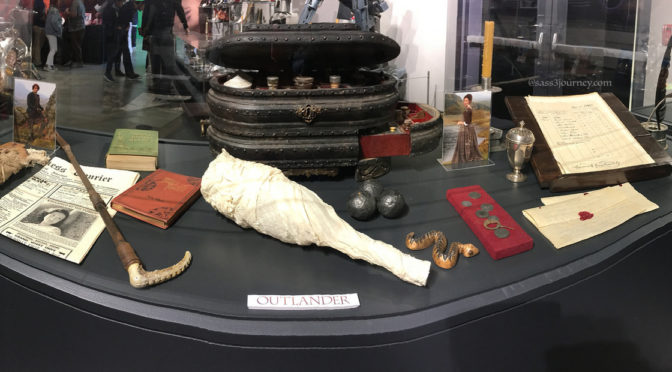 Outlander (and more) At Sony Pictures Studio Tour