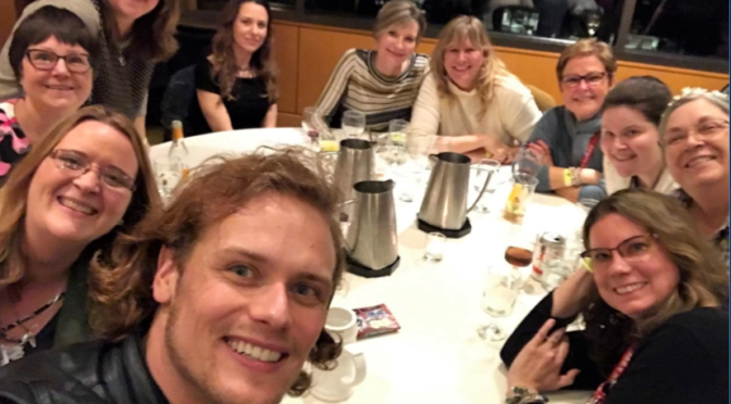 Meeting Sam Heughan & Caitriona Balfe:  The Ulitmate Fan Experience