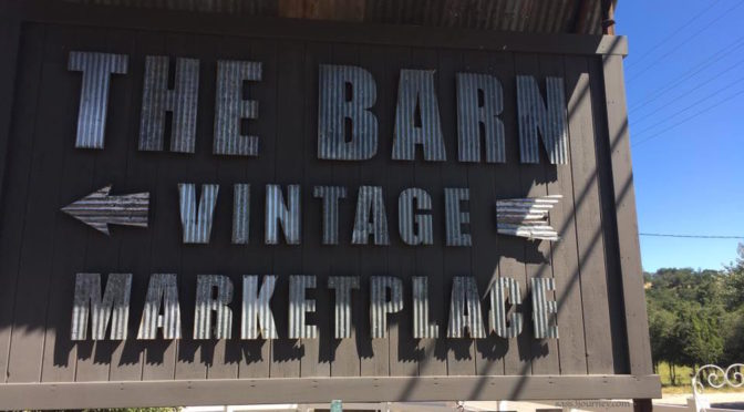 Time Traveling to the Past at The Barn's Vintage Marketplace Flea Market
