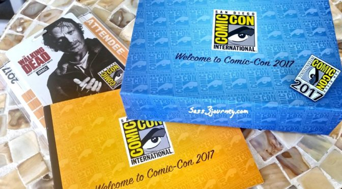 San Diego International Comic-Con: Let Our Adventures Begin!