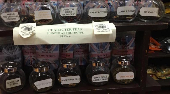 Outlandering at Shakespeare's Corner Shoppe and Afternoon Tea – A Review
